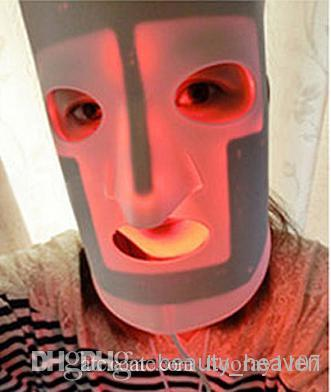 red light face mask with led light therapy for skin care wrinkle. Black Bedroom Furniture Sets. Home Design Ideas