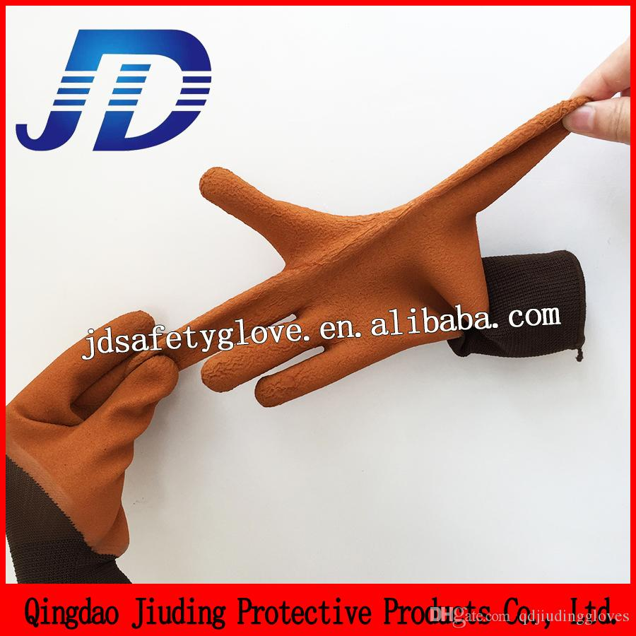Inexpensive leather work gloves - China Importers Wholesale Safety New Product Nylon High Elastic Foam Latex Work Gloves For Free Sampls Foam Latex Work Gloves Latex Gloves For Free Sampls
