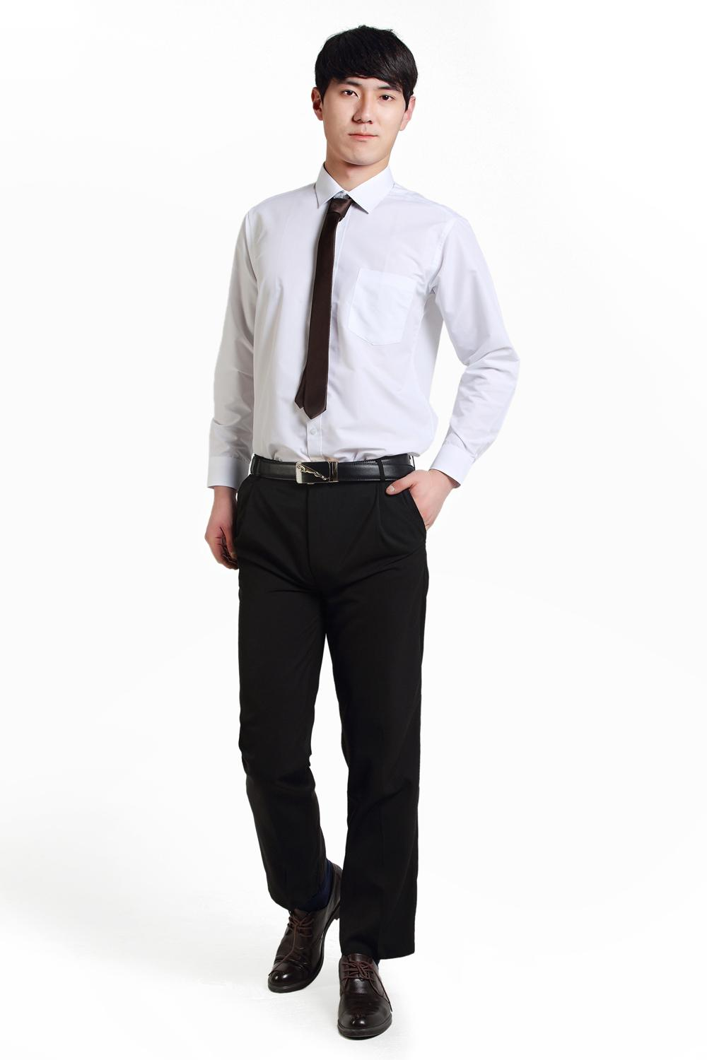 Shirt design for man 2017 - 2017 Oem Office Suit Business Suit Design For Men White Shirt And Black Pant Style From Patty_ren 31 25 Dhgate Com