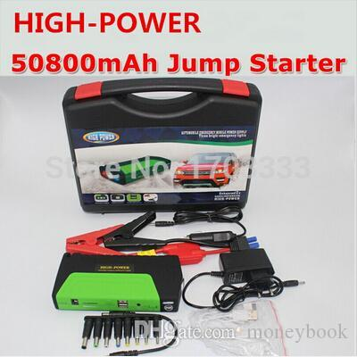 Super high power 50800mah car jump starter auto vehicle engine booster