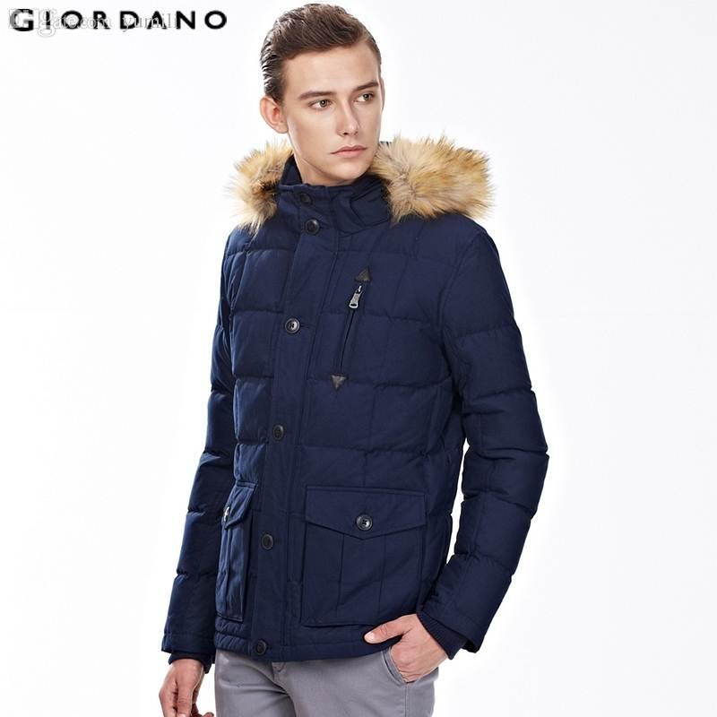 2017 Fall Giordano Men Down Jacket 2015 New Winter Warm Mens Coat ...
