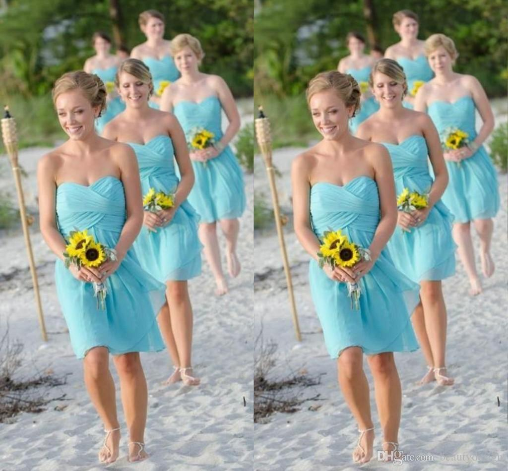 Fascinating Bridesmaid Dresses for Beach Weddings Pics Design Ideas ...