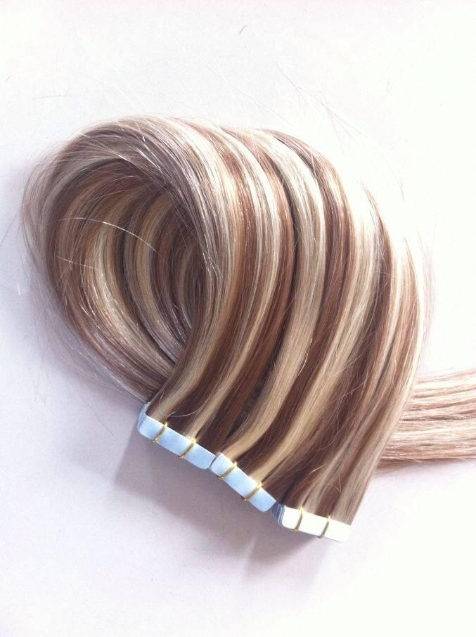 Virgin Russian Tape Hair Extensions 40