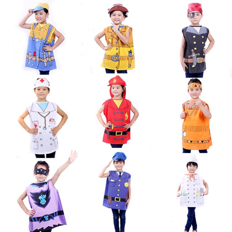 Halloween Dress Up Children's Game in Professional Clothing ...
