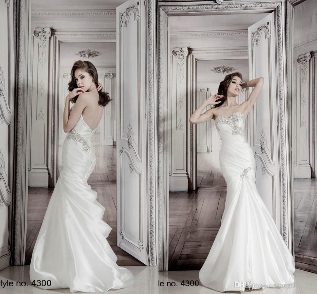 2015 Wedding Dresses Pnina Tornai Collection y Mermaid