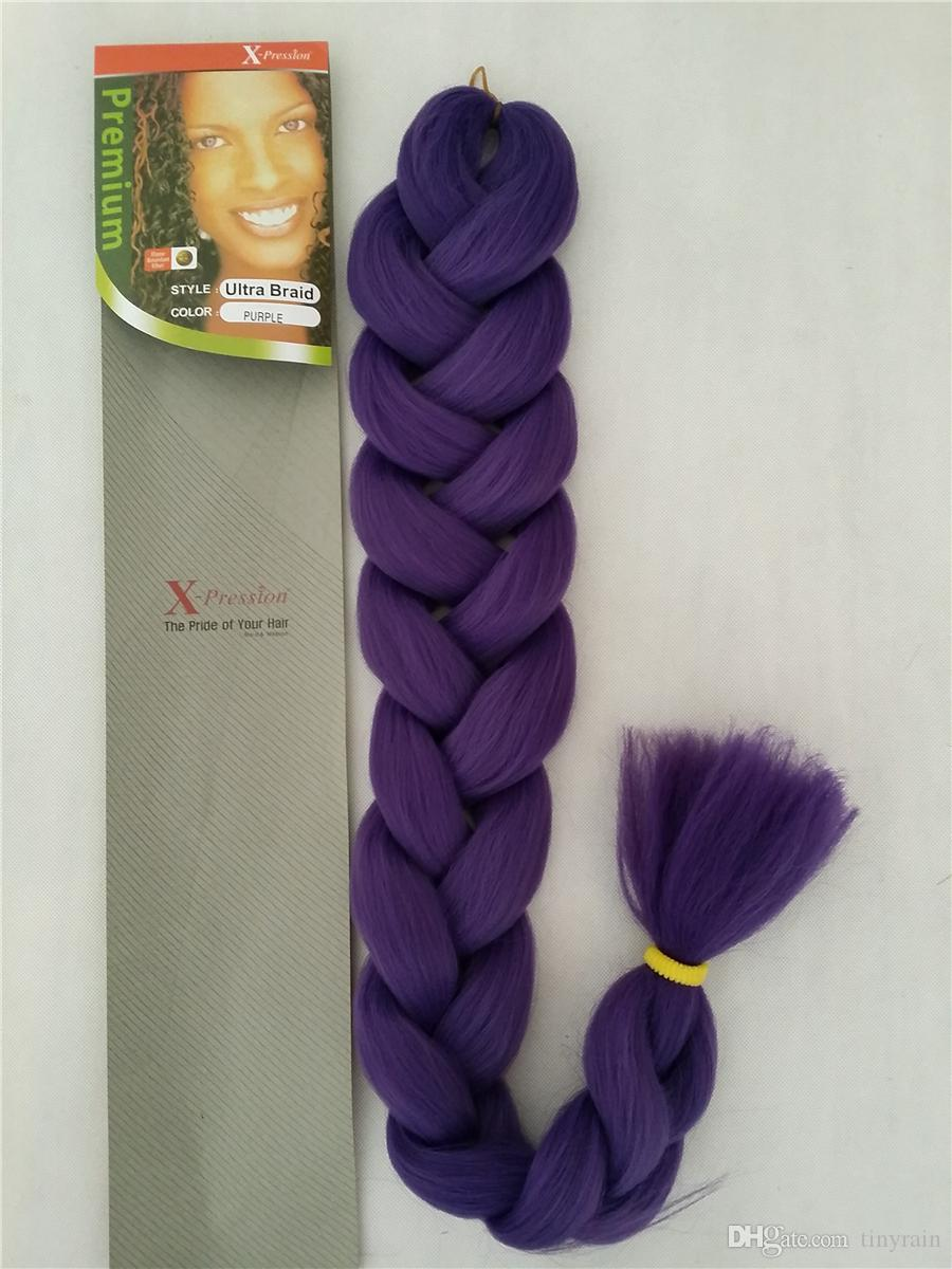 Xpression Ultra Braiding Hair 82inch 165g Authorized