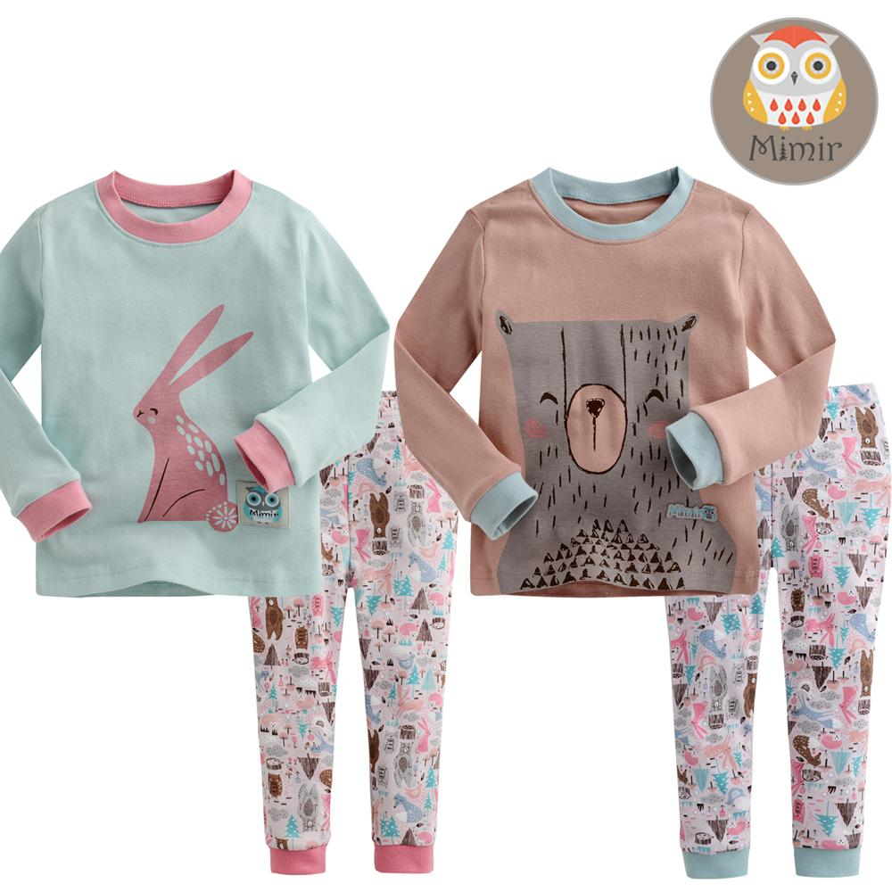 korea Baby Infant Toddler Kid Girl'S Clothes Sleepwear Pajama Set ...