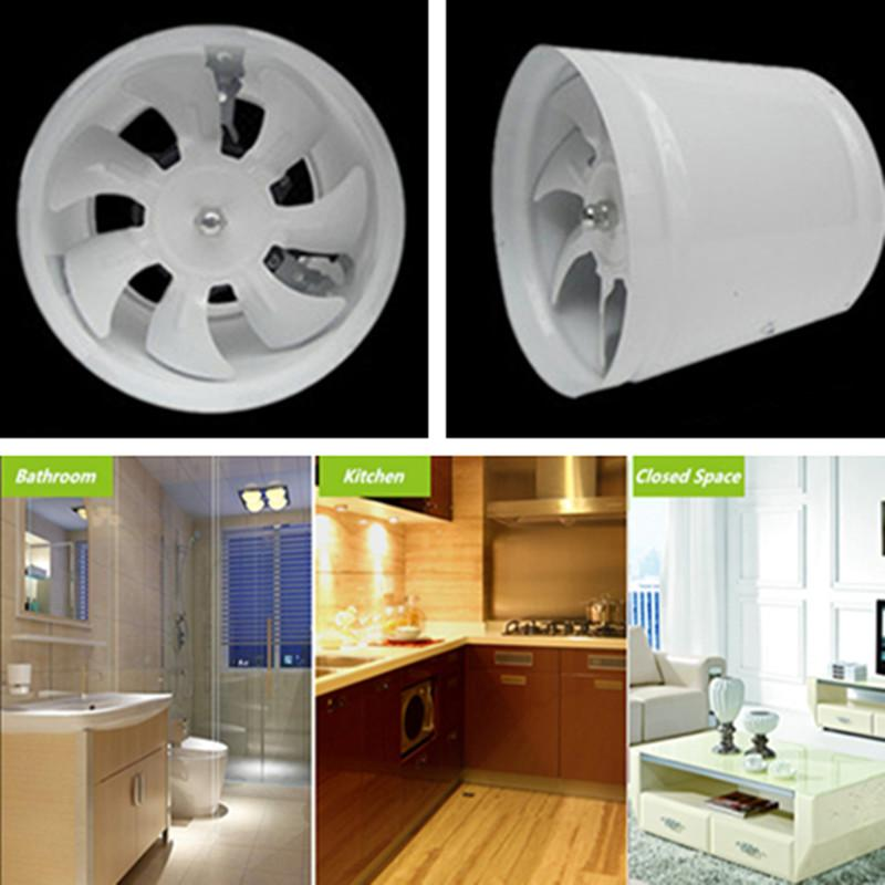 2017 Inline Duct Fan Kitchen Bathroom Ventilator Axial Fan Exhaust Fan Ventilator Energy Saving