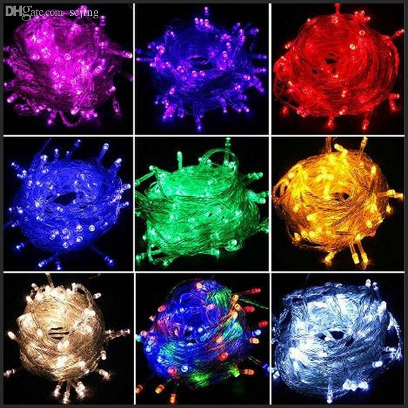 wholesale 10 meters led christmas tree lights string lights fairy. Black Bedroom Furniture Sets. Home Design Ideas