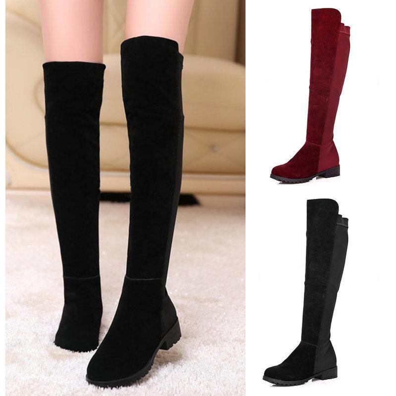 New 2015 Women Boots Flat Heels Botas Femininas Sapatos Femininos ...