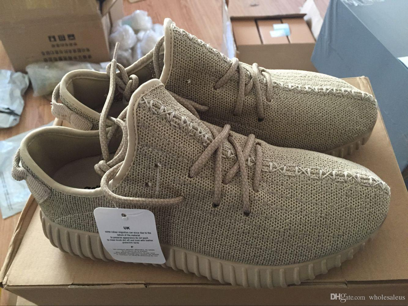 With Box Oxford Tan Yeezy Boost 350 Moonrock Turtle Dove ...
