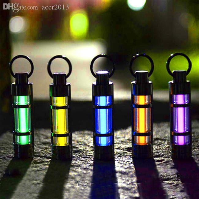 Gros-titane Tritium Fluorescence Sticks Growing Lumière Keychain Self Illuminati