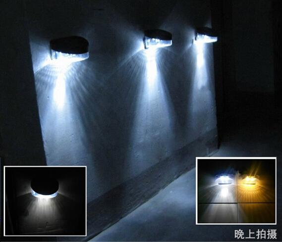 2LEDS 8LEDS Solar Lights Wall Lights Stair Lights Parapet Lights