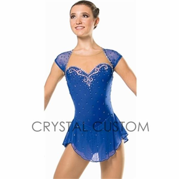 2015 Hot Sales Figure Skating Dress For Women Graceful New Brand ...