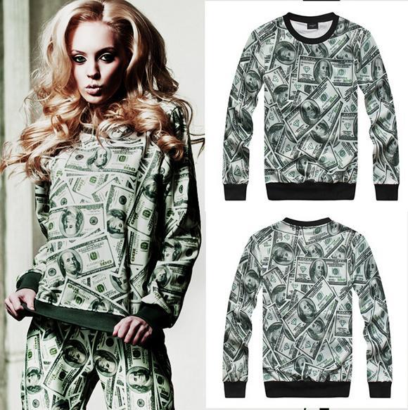 2015 Sale One Pcs Hip Hop Clothes Men Hoodies & Sweatshirts 3 D ...