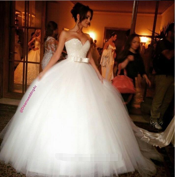 Самые красивые и пышные свадебные платья