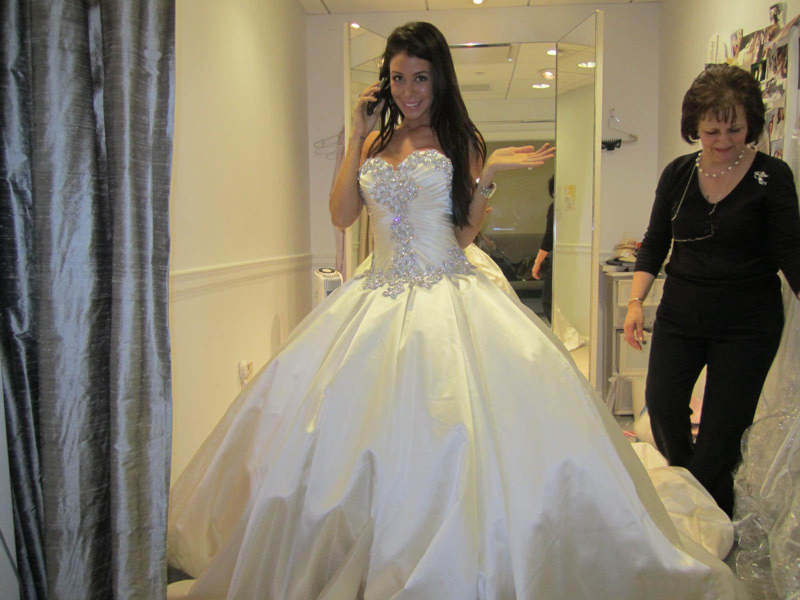Vestido de noiva wedding dresses ball gown designer new for Dresses for church wedding