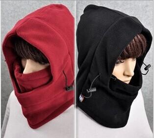 Hot 10 couleurs Winter Outdoor Thermal Warm 6 en 1 Capuche de Balaclava Police S