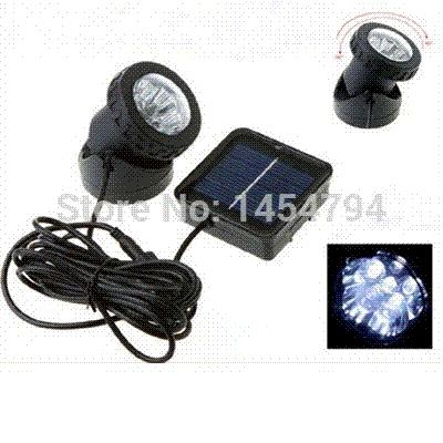 6led spot lighting solar panel fountains underwater lamp aquarium, Reel Combo