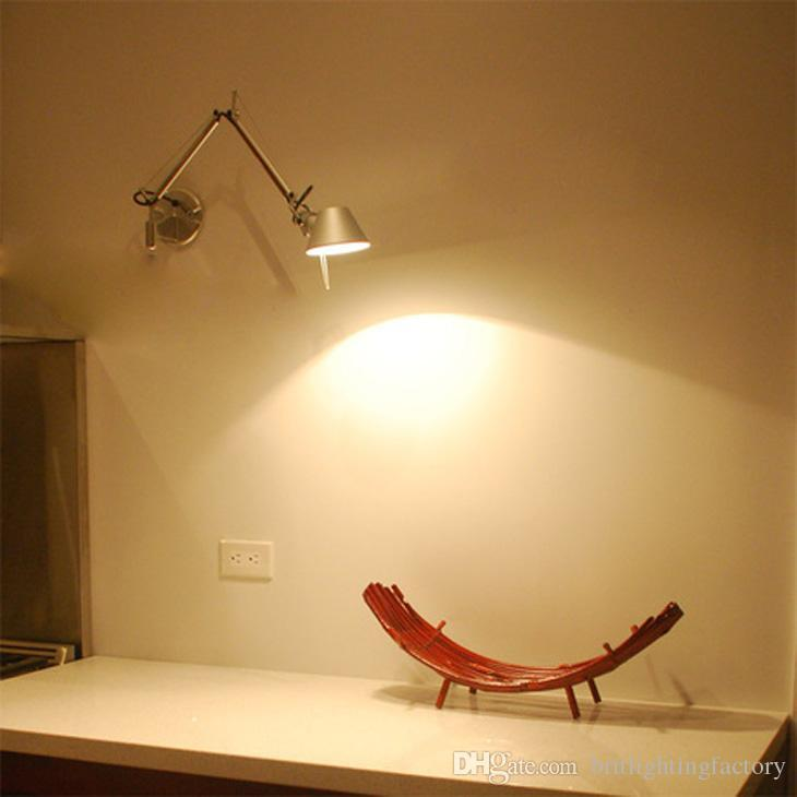Best Wall Sconce Bedroom Modern Wall Lamps Led Wall Lights Adjustable Work Lamps Swing Arm Wall ...
