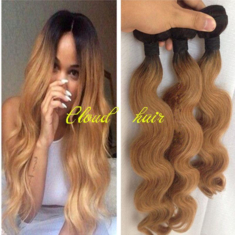 Blonde Hair Dark Roots Weave More Information