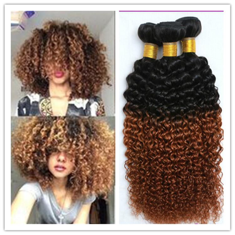 Cheap 1b 30 Mongolian Kinky Curly Afro Kinky Hair Weave