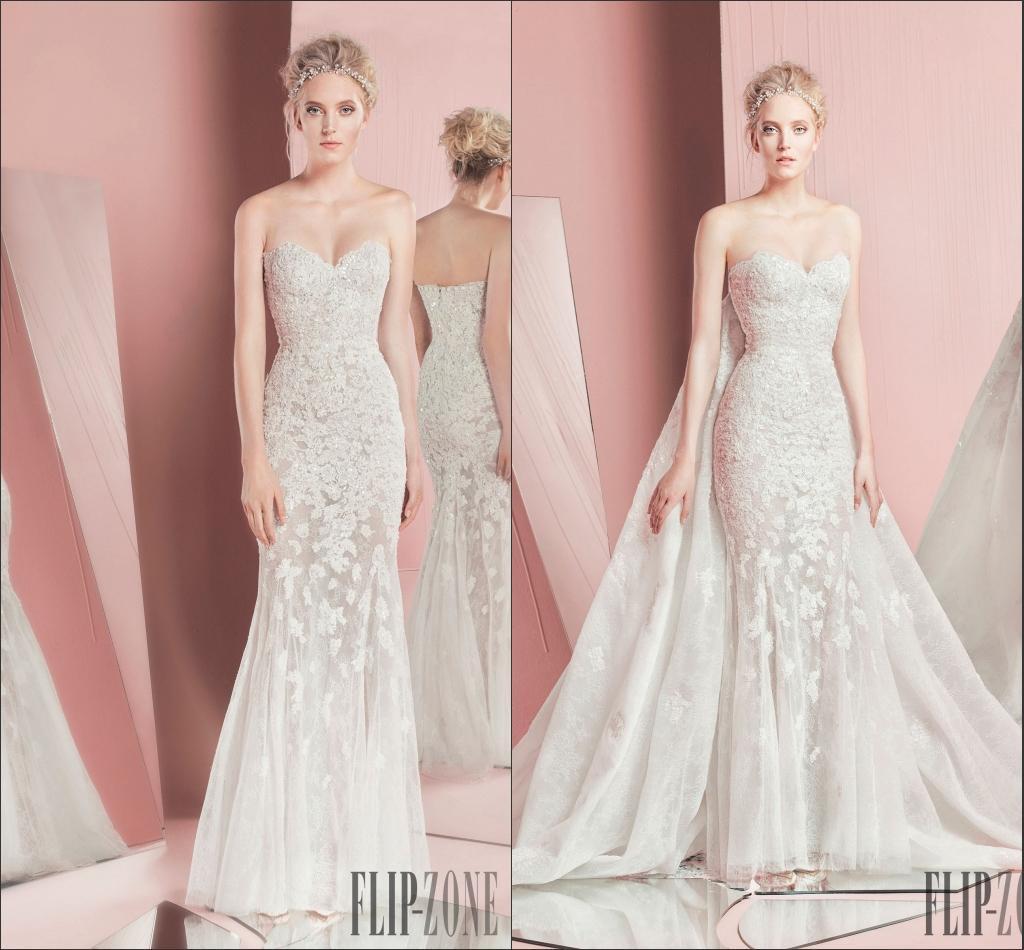 Moderno Wedding Gown With Removable Skirt Modelo - Colección de ...