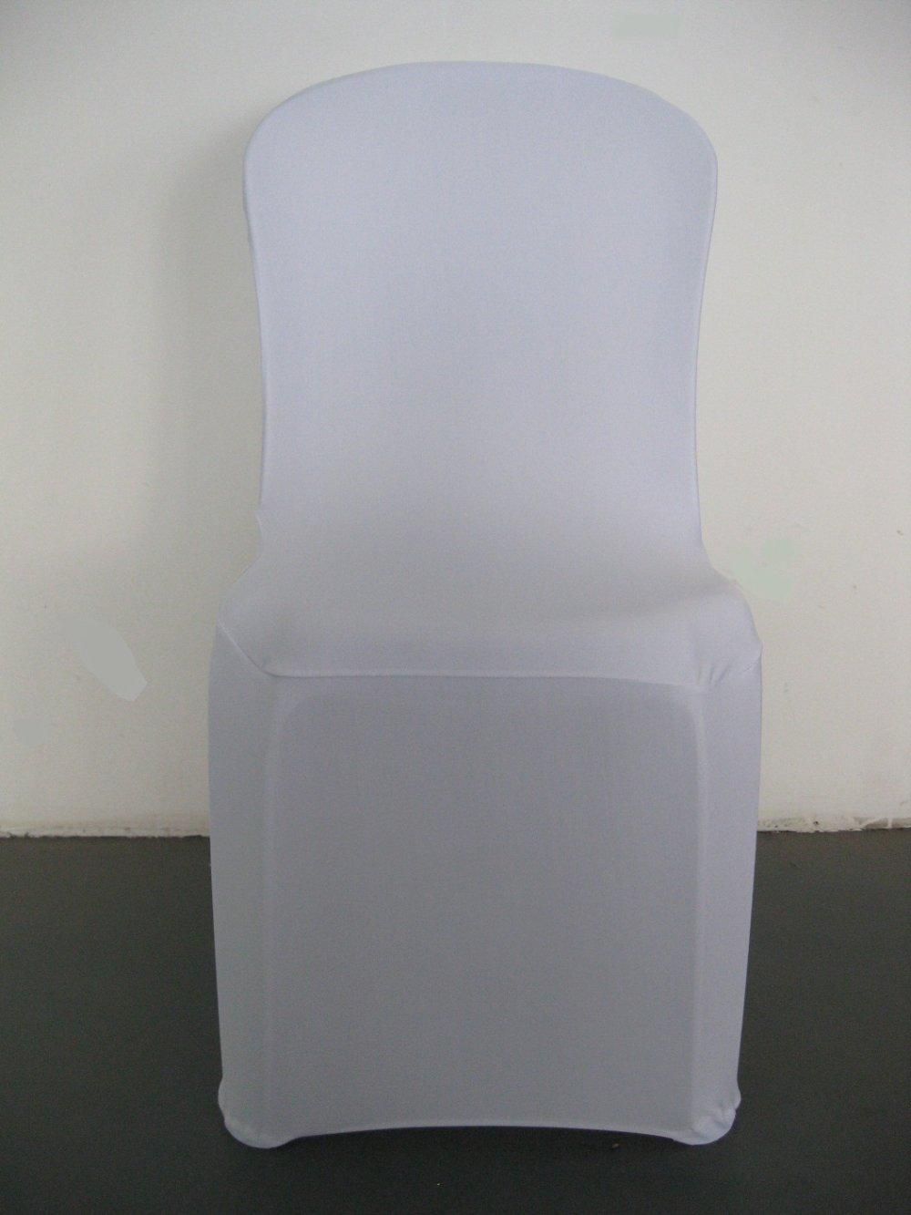 200gsm Thick Spandex Fabric Plastic Chair Cover Various Colors Fit All Chairs High Quality Dhl