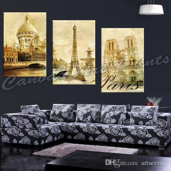 2017 Wholesale Framed Home Decor Canvas Prints Painting London Canvas Wall Pictures Canvas Wall