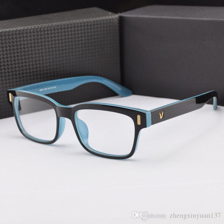 Men s European Eyeglass Frames : Frame Spectacles Frame Brand Eye Glasses Frame Men ...