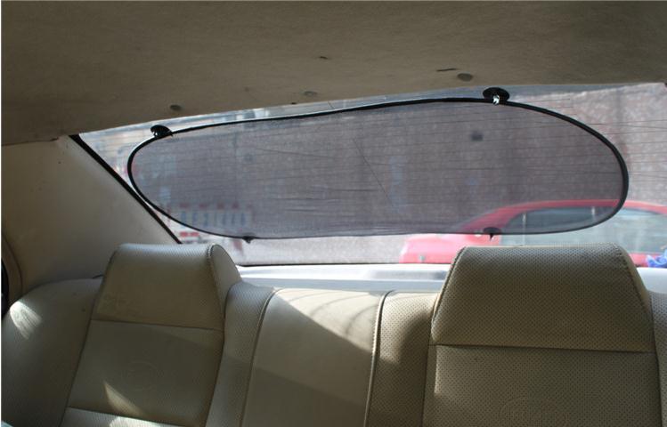 Black 50x100 Cm Car Rear Back Window Sunscreen Sun Shade