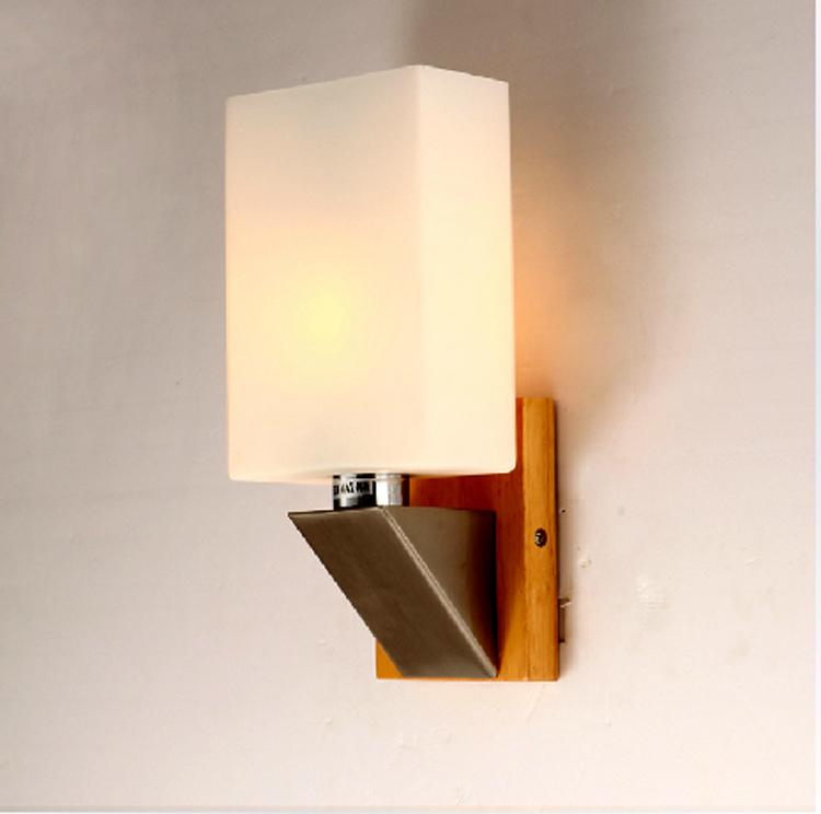 Wall Lights Made From Wood : Best Rustic Single Wooden Wall Lights Wood And Iron Sconces Brushed Steel Wall Lamps Interior ...