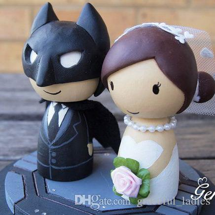 Wedding Cake Toppers nz Wedding Cake Topper Batman