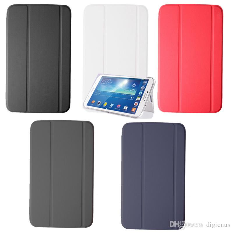 S5Q Slim Thin Leather Case Housse pour Samsung Galaxy Tab 3 8.0 T310 T311 T315 A
