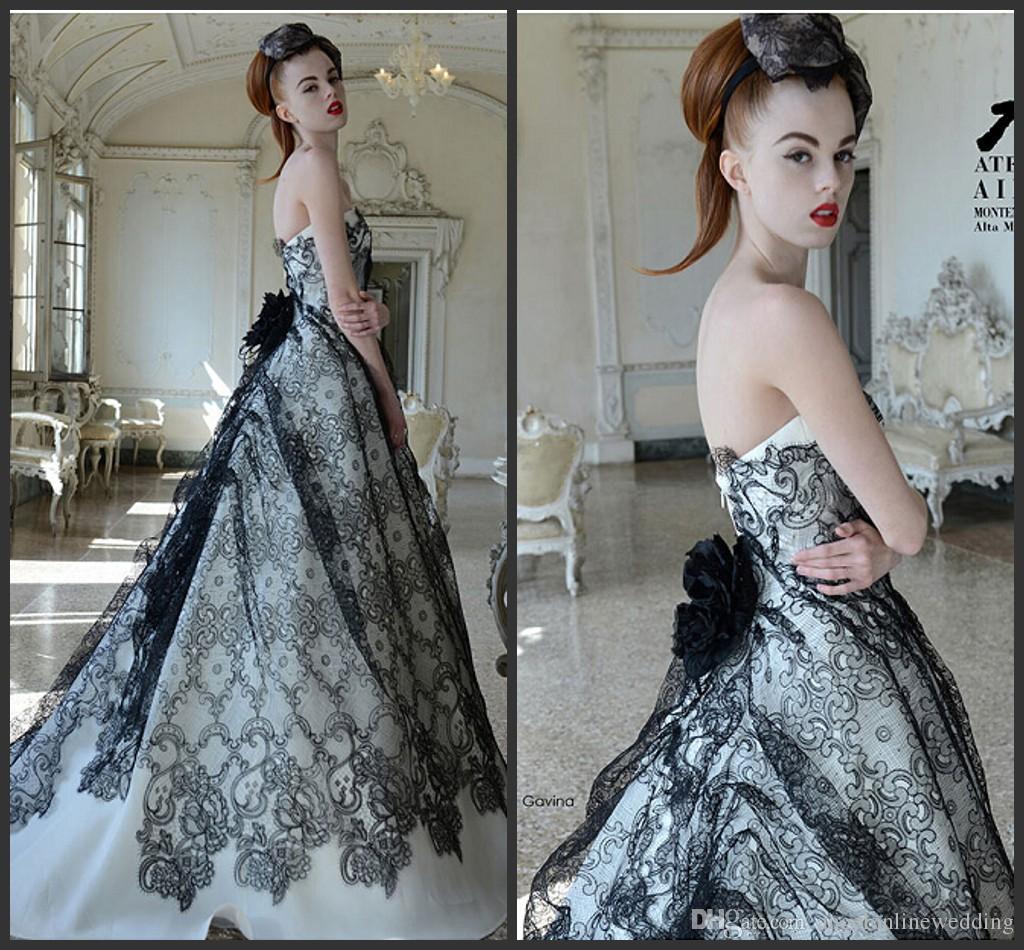 Plus Size Designer Gothic Wedding Dresses List