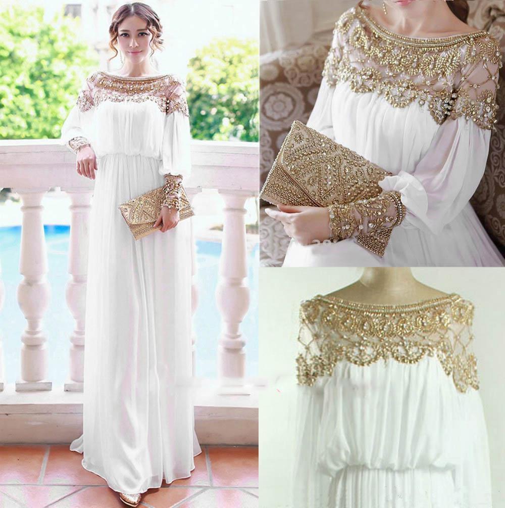 Accessorize vintage lace kaftan dress
