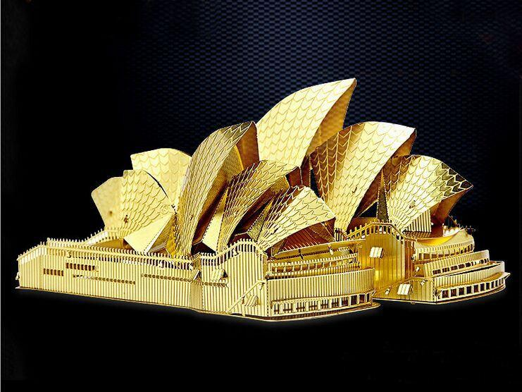 Sydney opera house model template