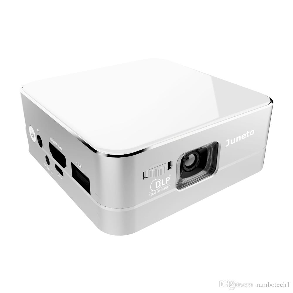 Portable dlp projectors for iphone 7 samsung s7 wireless for Bluetooth projector for iphone