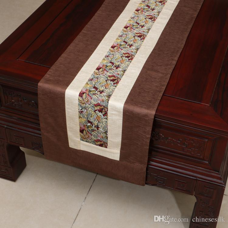 Patchwork 120 inch long table runner classic rustic high for 120 inches table runner