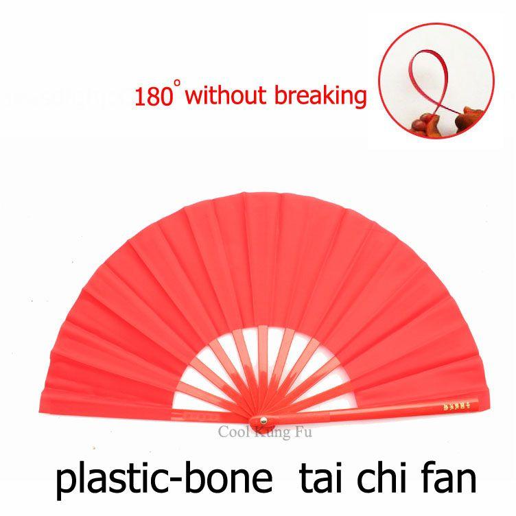 2017 plastic bone tai chi fan kung fu fan senior taiji fan. Black Bedroom Furniture Sets. Home Design Ideas