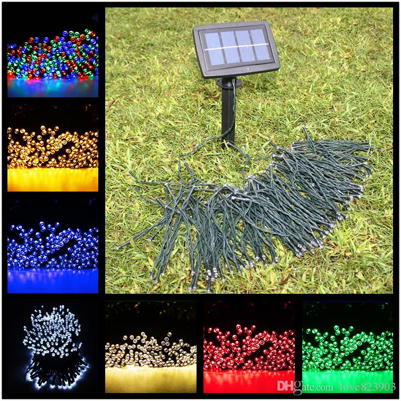 Online Cheap Wholesale 22m 200 Led Solar Fairy String Lights For Outdoor, Gardens, Homes ...