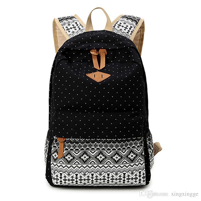 2016 Backpacks For Teenage Girls Middle School Girls Shoulder ...