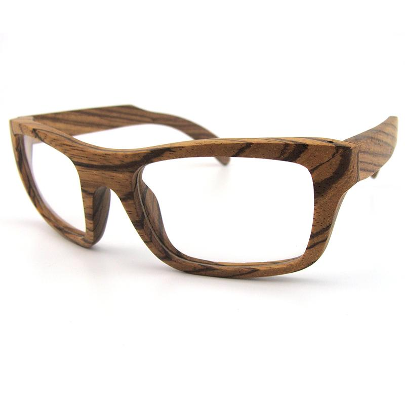 Wood Frame For Glasses : Real Wood Optical Frames Big Curve Frames For Prescription ...