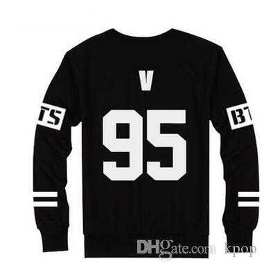 1pc de livraison gratuite bts membre fashion cotton sweater