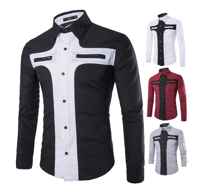 Long Sleeve Dress Shirts With Designs