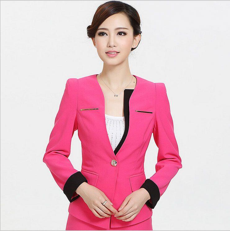 Spring Autumn Female Skirt Suits New 2015 Elegant Women Business ...