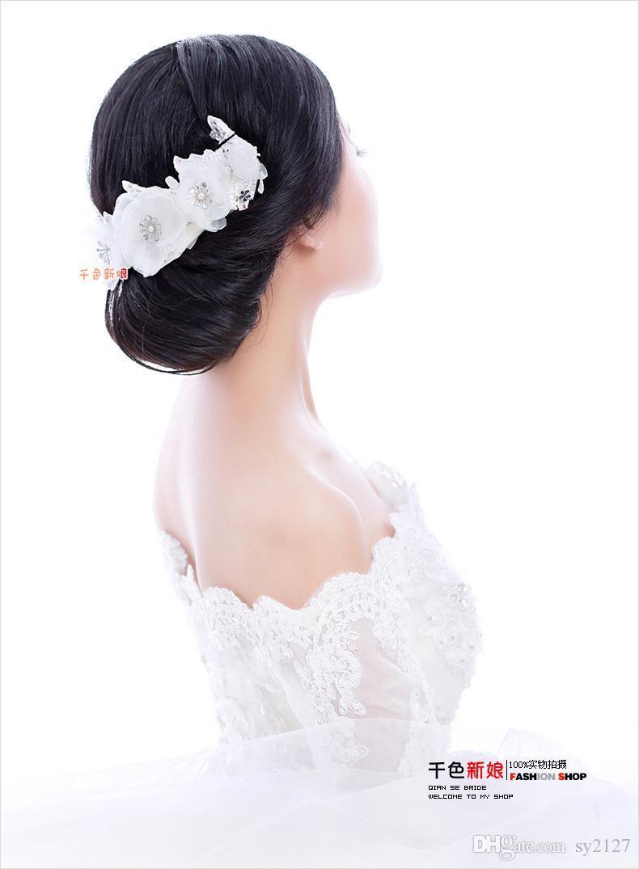 Piezas de pelo de la boda de la vendimia