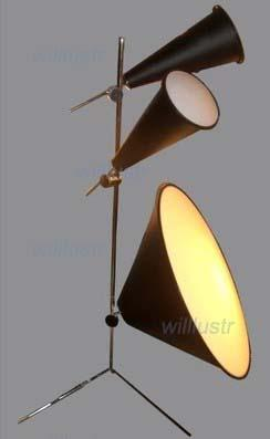 Tom Dixon Cone Floor Lamp Aluminum Cone Light Horn Shape Floor ...