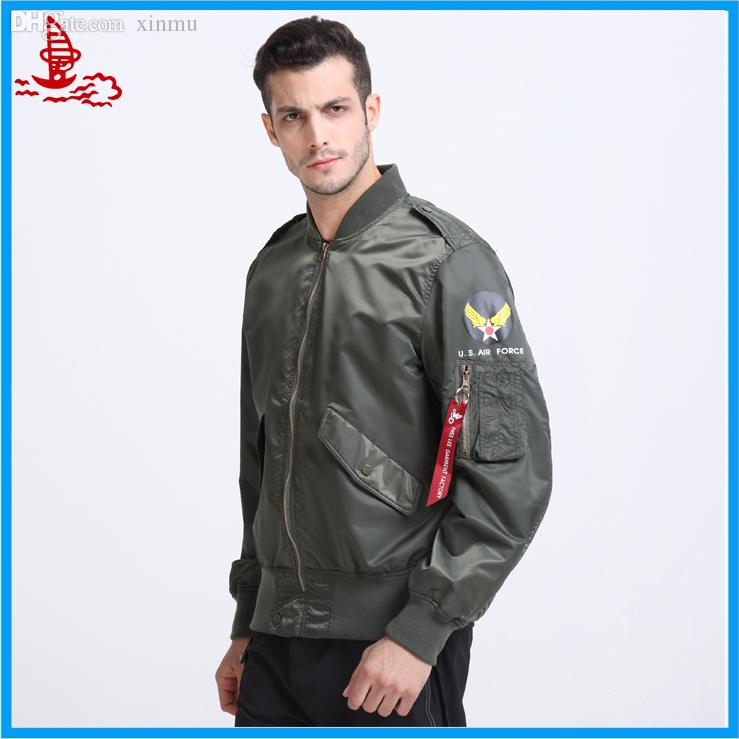 Fall Thin L 2b Outdoor Waterproof Jacket Ma 1 Flight Jacket Us Air ...