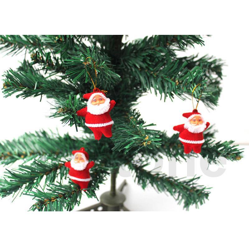 Freeb Shipping Christmas Santa Claus Ornaments Festival Party Xmas Tree  Hanging Decoration Orderu003c$18no Track Decorated Christmas Tree Christmas  Decorations ...